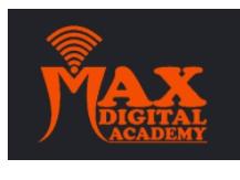 digital marketing courses in deoria - max digital academy logo