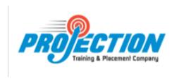 digital marketing courses in dewas - projection logo
