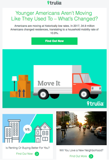 email marketing tips and samples - Trulia
