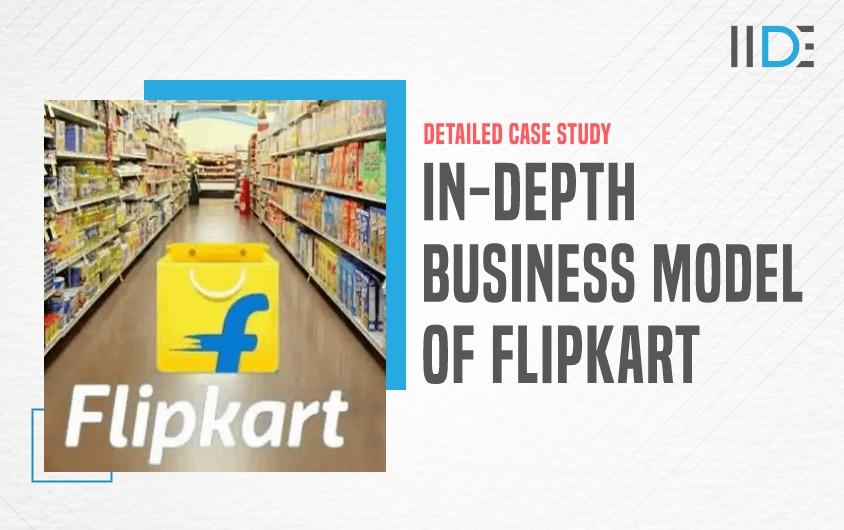 Business Model of Flipkart - featured image | IIDE