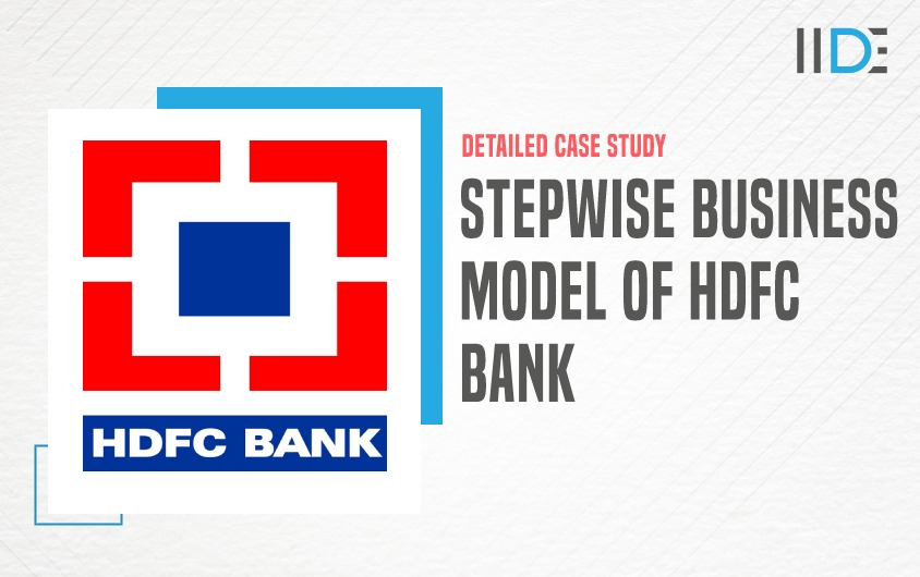 Business Model of HDFC Bank - featured image | IIDE