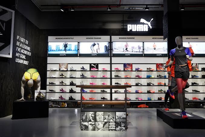 Puma Shoes Showroom   Marketing Mix of Puma   IIDE