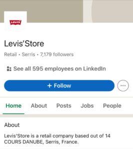 Levi's LinkedIn Handle | Marketing Strategy of Levi's | IIDE