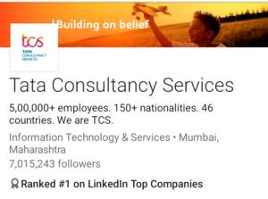 TCS LinkedIn | Marketing Strategy of TCS | IIDE