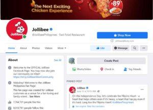 Jollibee Facebook - Marketing Strategy of Jollibee   IIDE