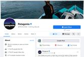 Patagonia Facebook - Patagonia Marketing Strategy