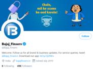 Bajaj Finserv Twitter - Bajaj Finserv Marketing Strategy | IIDE