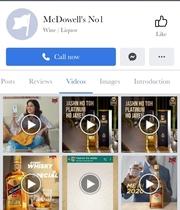 McDowells Facebook - Marketing Strategy of McDowells   IIDE