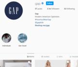 GAP Social Media Instagram - Marketing Strategy of GAP   IIDE