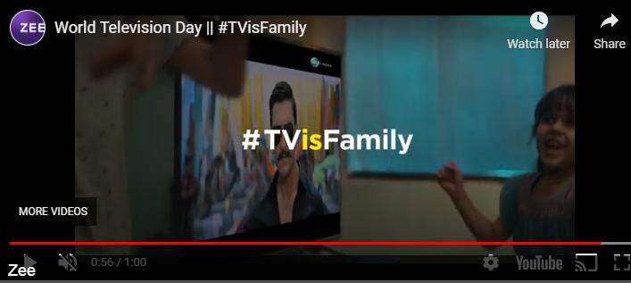 Zee Marketing Campaign TV is Family | Marketing Strategy of Zee | IIDE