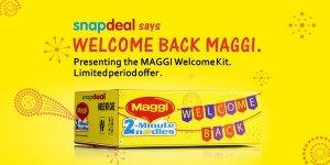 digital marketing strategy of Maggi  IIDE