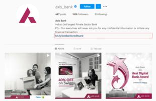Axis Bank Social Media Marketing Instagram - Axis Bank Marketing Strategy | IIDE