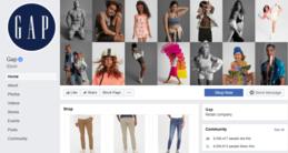 GAP Social Media Facebook - Marketing Strategy of GAP   IIDE