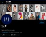 GAP Social Media Twitter - Marketing Strategy of GAP   IIDE