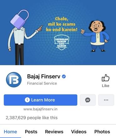 Bajaj Finserv Facebook - Bajaj Finserv Marketing Strategy | IIDE