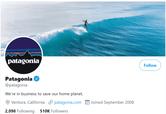 Patagonia twitter - Patagonia Marketing Strategy