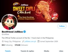 Jollibee Twitter - Marketing Strategy of Jollibee   IIDE