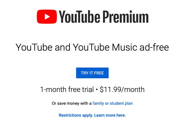 Youtube Pricing Strategy - Marketing Strategy of Youtube   IIDE