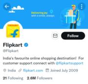 Flipkart Twitter Marketing - Business Model of Flipkart | IIDE