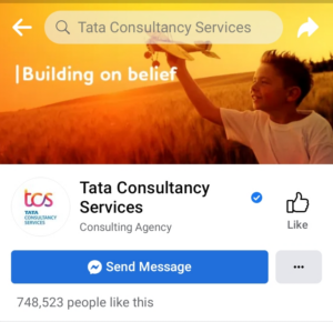 TCS Twitter | Marketing Strategy of TCS | IIDE