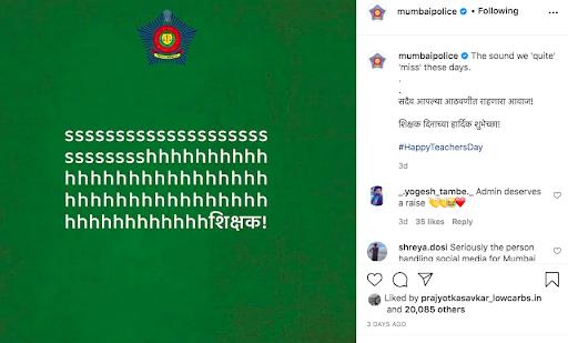 marketing to gen z - mumbai police