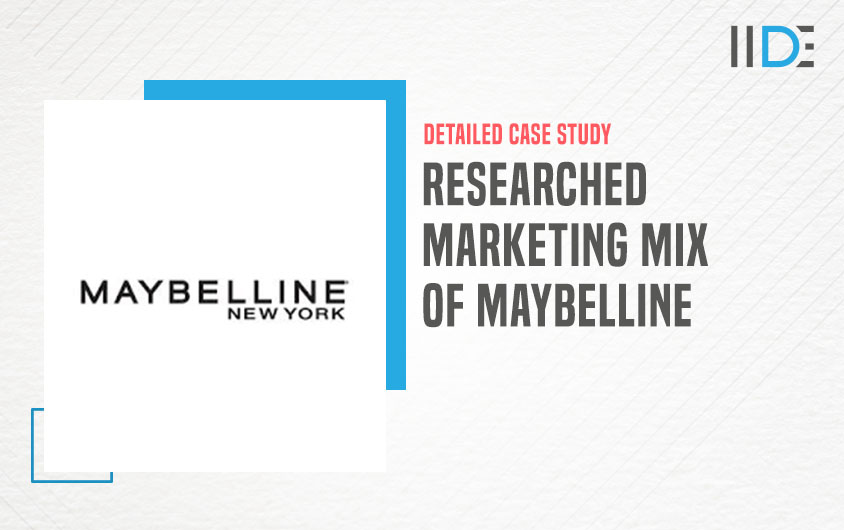 Marketing mix of Maybelline -feature image |IIDE