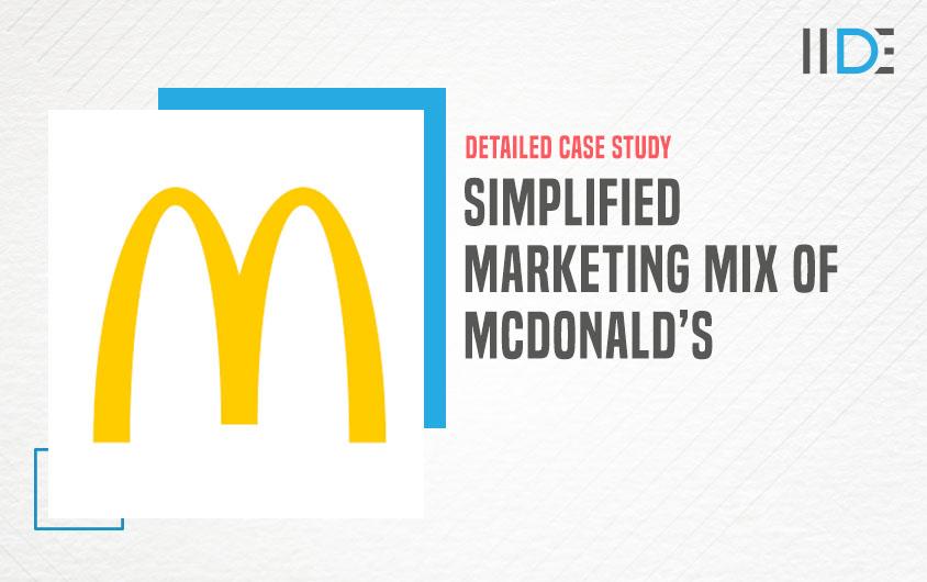 marketing mix of McDonalds -feature image | IIDE