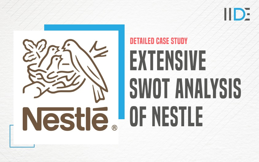 SWOT Analysis of Nestle - featured image   IIDE