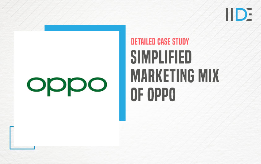 Marketing mix of Oppo- feature image |IIDE