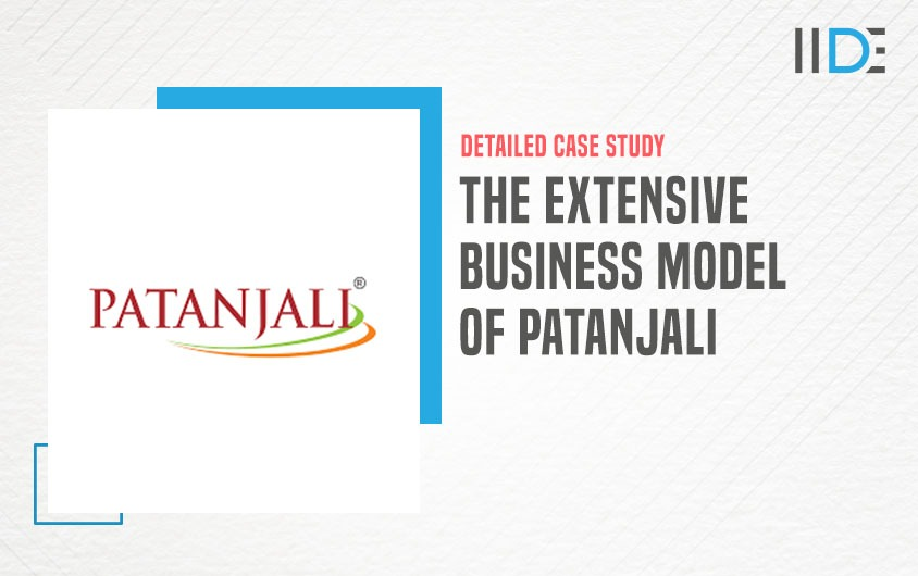 Business Model of Patanjali - featured image   IIDE