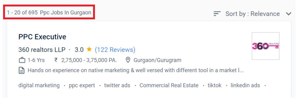 ppc Courses in gurgaon - job oppotrunities
