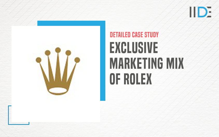 marketing mix of Rolex -feature image  IIDE