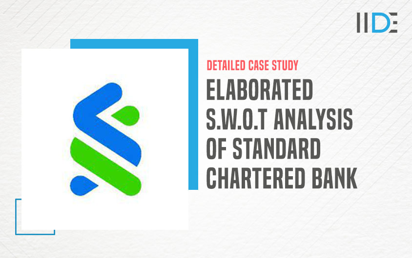 SWOT Analysis of Standard Chartered bank - feature image |IIDE