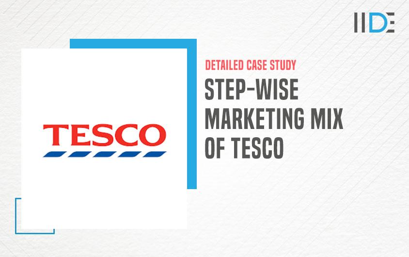 marketing mix of Tesco -feature image |IIDE