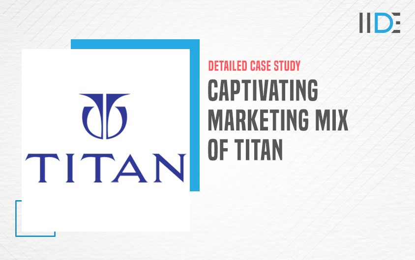 marketing mix of Titan  IIDE