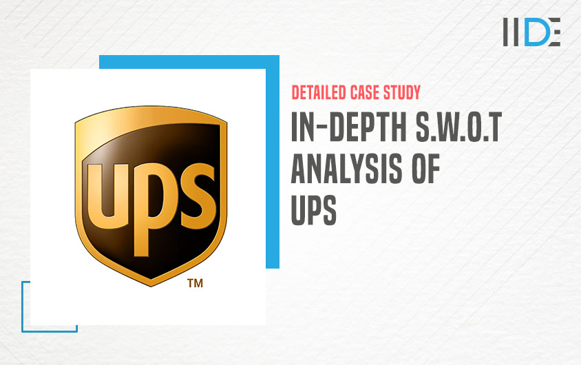 SWOT Analysis of UPS featured image | IIDE