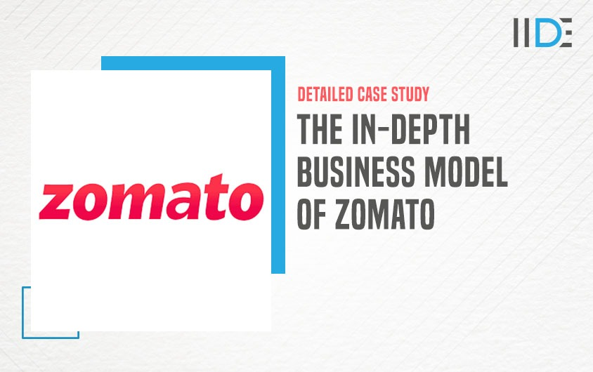 Business Model of Zomato - featured image | IIDE