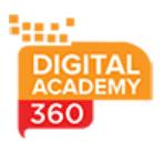 Digital Marketing Courses in Alandur - Digital Academy 360 Logo