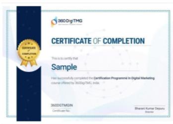 Digital Marketing Courses in Bhilai - 360DigiTMG Certification Offeref