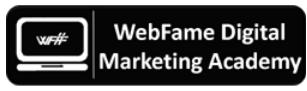 Digital Marketing Courses in Bhilai - WebFame Digital Marketing Logo